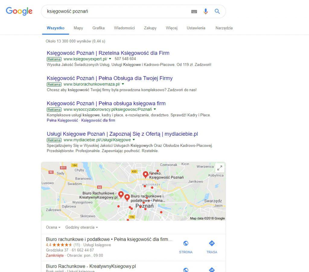 Reklama GoogleAds Poznań