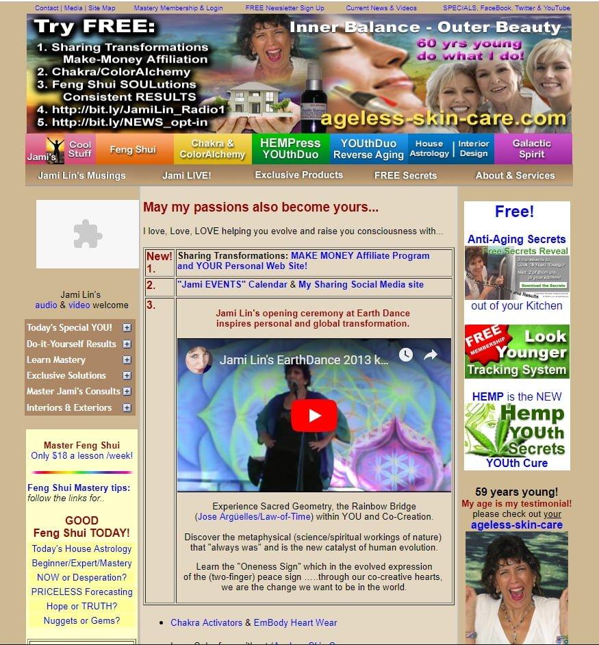 Brzydka strona internetowa